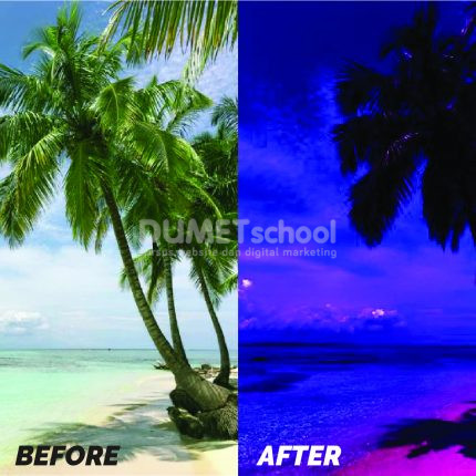 Mengubah Gambar Dari Siang Ke Malam