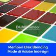 Memberi Efek Blending Mode di Adobe Indesign