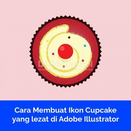 Cara Membuat Ikon Cupcake yang lezat di Adobe Illustrator Part 1