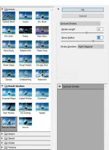 Membuat Efek Coretan Pada Gambar di Adobe Illustrator